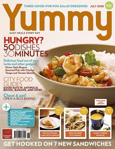 July's Yummy Magazine