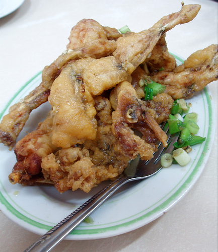 Salt and Pepper Frog's Legs from Fook Yuen Food Center