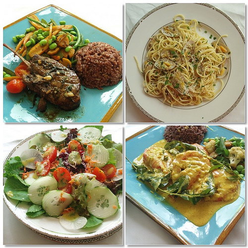 Dishes from Green Daisy