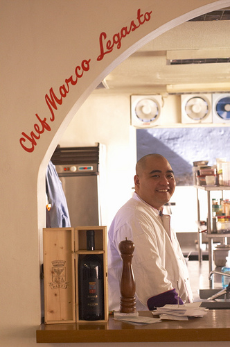 Chef Marco Legasto of Purple Feet