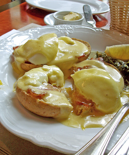 Eggs Benedict from Mamou