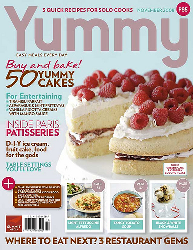 Table Suggestions: Yummy's Dessert Issue