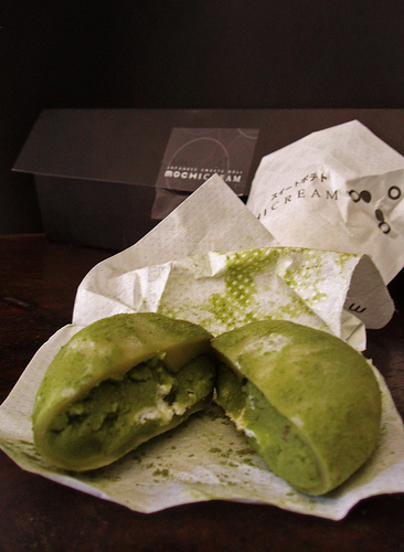 Green Tea Mochi from MochiCREAM