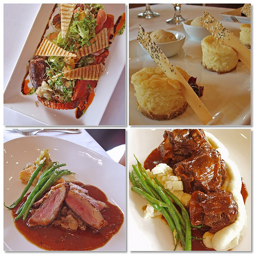Chef Ariel Manuel's Creations at Lolo Dad's Brasserie