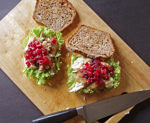 Table Recipes: 'Thanksgiving in a Sandwich' Sandwich