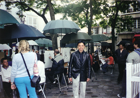 Manggy in Montmartre