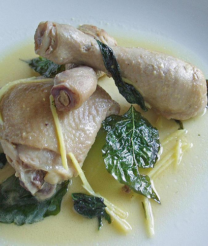 Table Recipes: Pinatisang Manok