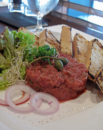 Beef Tartare from I'm Angus by Table For Three, Please, on Flickr