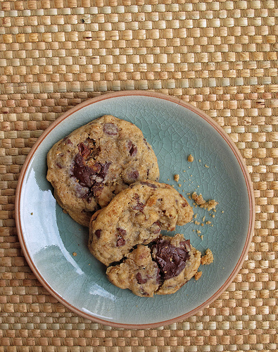 Ghirardelli Chocolate Chip Cookies from Roshan's