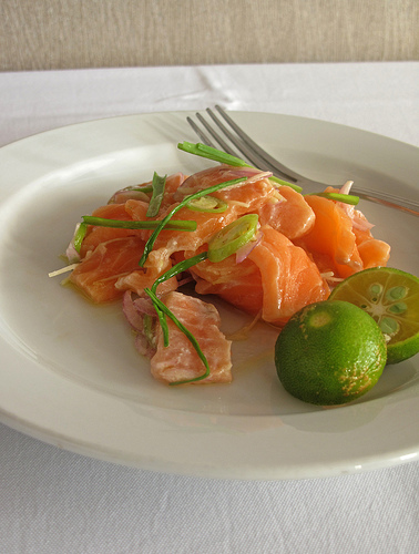Salmon Kilinlaw from Restaurant Uno