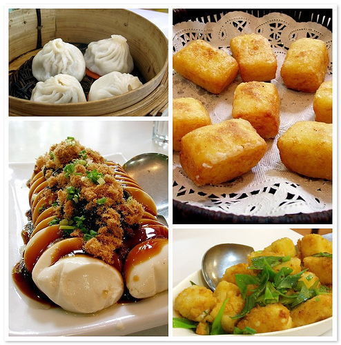 The Food from Su Zhou Dimsum