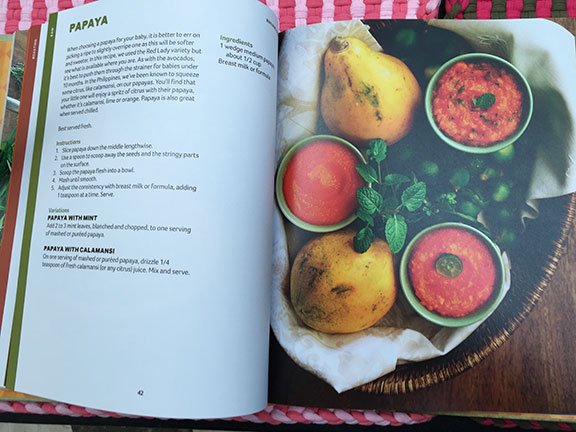 Table for three please namee jorolan sunico launches whole a cookbook of her recipes beautifully shot handsomely bound and independently published simply titled as wholenatural baby food a true labor of love forumfinder Choice Image